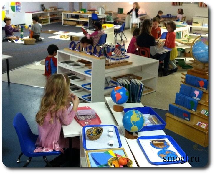 Монтессори садик для детей