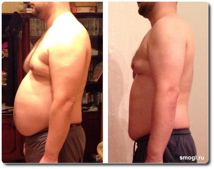 домашняя программа похудения, результат, фото
