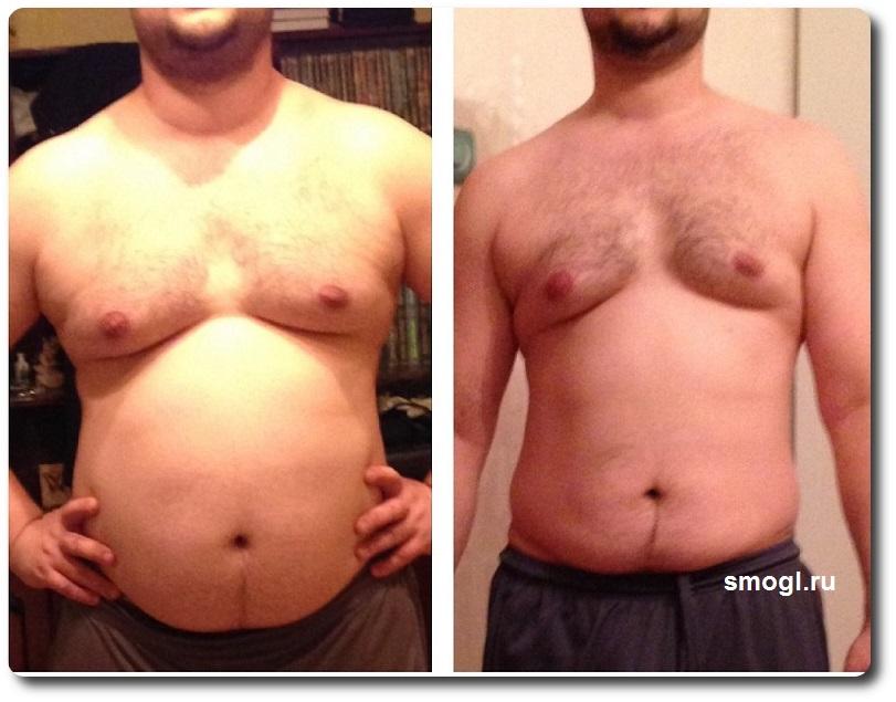 фотография до и после программа похудайка
